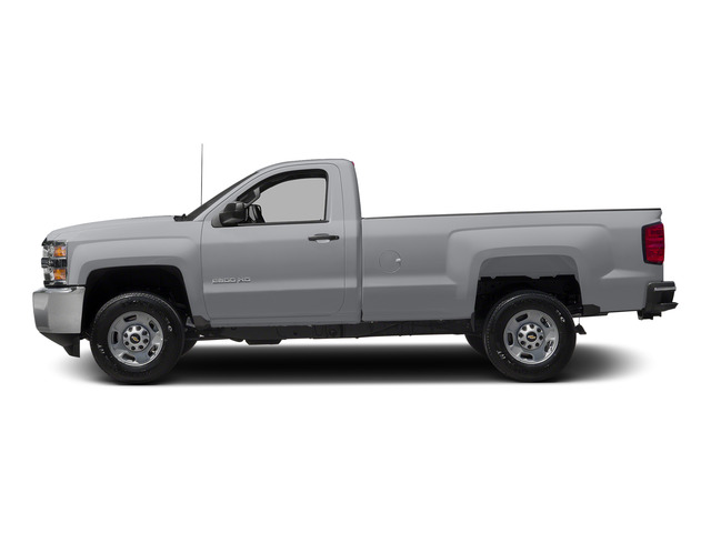 Silver Ice Metallic 2015 Chevrolet Silverado 2500HD Pictures Silverado 2500HD Regular Cab LT 2WD photos side view