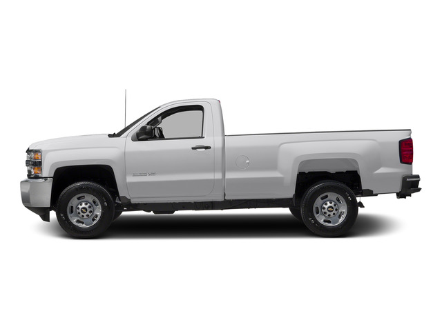 Summit White 2015 Chevrolet Silverado 2500HD Pictures Silverado 2500HD Regular Cab LT 2WD photos side view