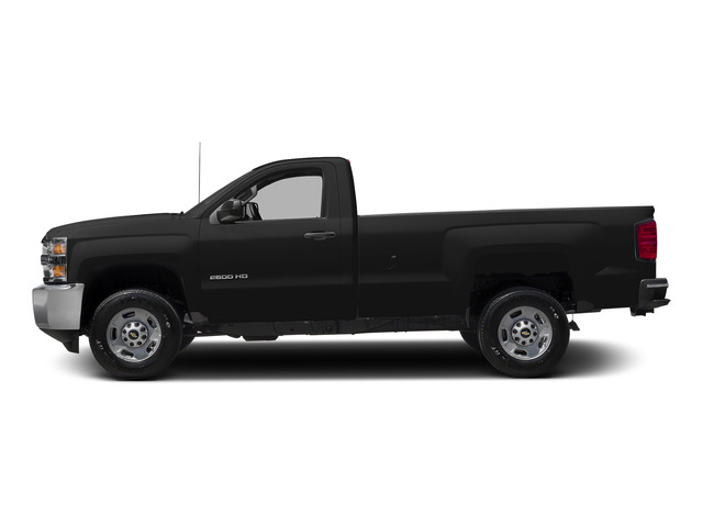 Black 2015 Chevrolet Silverado 2500HD Pictures Silverado 2500HD Regular Cab LT 2WD photos side view