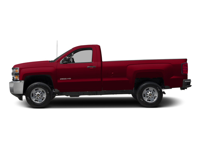 Victory Red 2015 Chevrolet Silverado 2500HD Pictures Silverado 2500HD Regular Cab LT 2WD photos side view