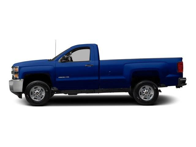 Blue Topaz Metallic 2015 Chevrolet Silverado 2500HD Pictures Silverado 2500HD Regular Cab LT 2WD photos side view