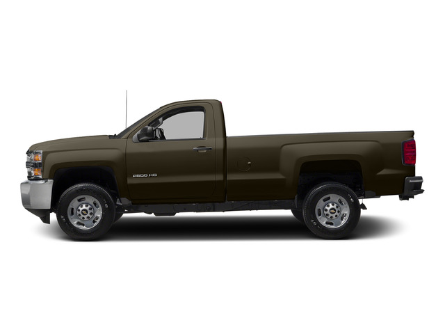 Brownstone Metallic 2015 Chevrolet Silverado 2500HD Pictures Silverado 2500HD Regular Cab LT 2WD photos side view
