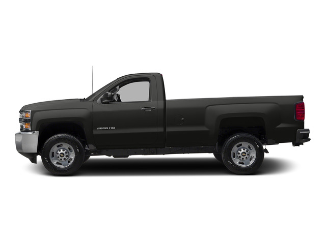 Tungsten Metallic 2015 Chevrolet Silverado 2500HD Pictures Silverado 2500HD Regular Cab LT 2WD photos side view
