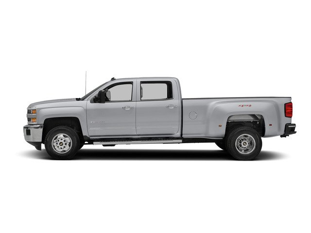 Silver Ice Metallic 2015 Chevrolet Silverado 3500HD Pictures Silverado 3500HD Crew Cab LTZ 2WD photos side view