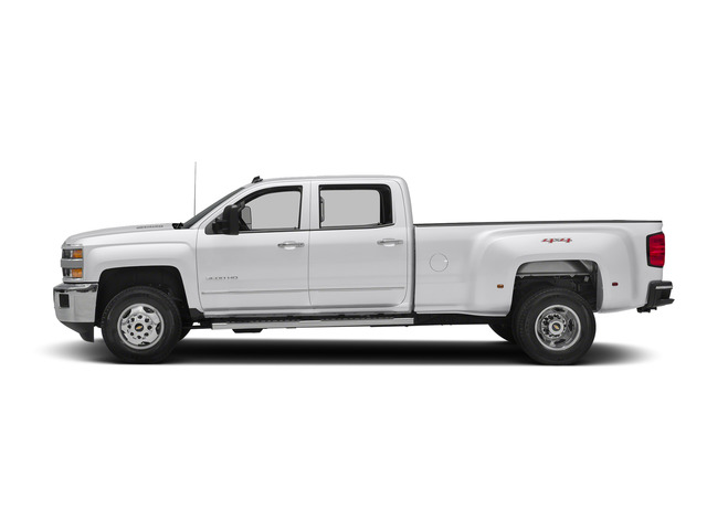 Summit White 2015 Chevrolet Silverado 3500HD Pictures Silverado 3500HD Crew Cab LTZ 2WD photos side view