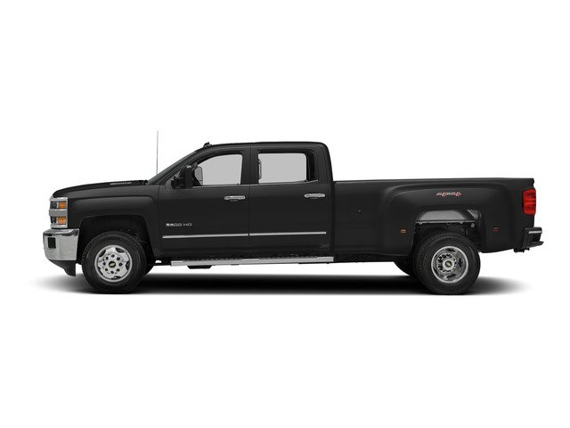 Black 2015 Chevrolet Silverado 3500HD Pictures Silverado 3500HD Crew Cab LTZ 2WD photos side view
