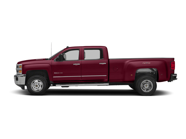 Deep Ruby Metallic 2015 Chevrolet Silverado 3500HD Pictures Silverado 3500HD Crew Cab LTZ 2WD photos side view