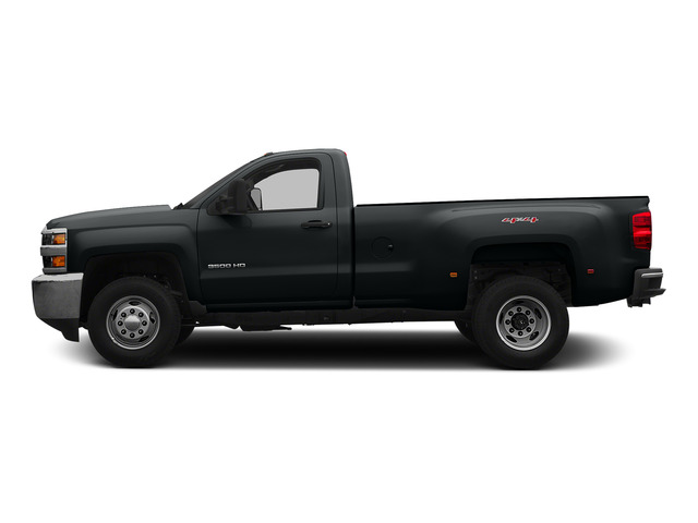 Blue Granite Metallic 2015 Chevrolet Silverado 3500HD Pictures Silverado 3500HD Regular Cab LT 4WD photos side view