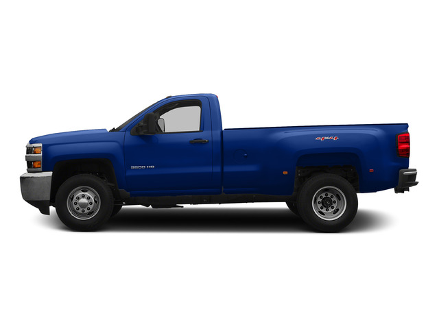 Blue Topaz Metallic 2015 Chevrolet Silverado 3500HD Pictures Silverado 3500HD Regular Cab LT 4WD photos side view