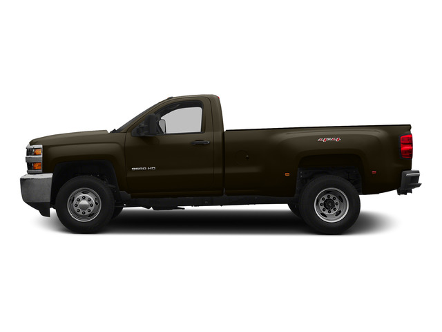 Brownstone Metallic 2015 Chevrolet Silverado 3500HD Pictures Silverado 3500HD Regular Cab LT 4WD photos side view