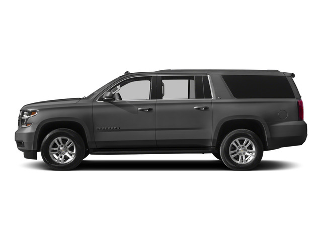 Slate Grey Metallic 2015 Chevrolet Suburban Pictures Suburban Utility 4D LT 4WD V8 photos side view