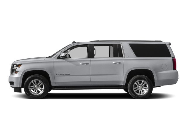Silver Ice Metallic 2015 Chevrolet Suburban Pictures Suburban Utility 4D LT 4WD V8 photos side view