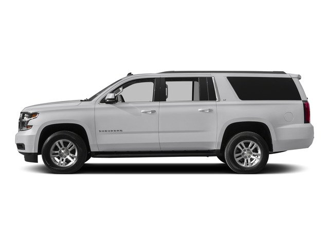 Summit White 2015 Chevrolet Suburban Pictures Suburban Utility 4D LT 4WD V8 photos side view