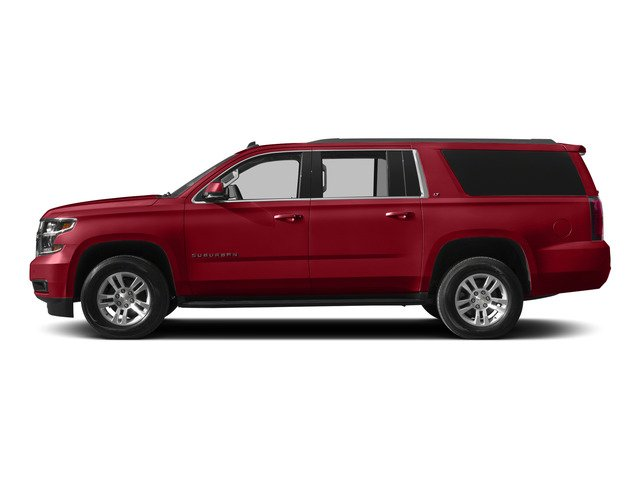 Crystal Red Tintcoat 2015 Chevrolet Suburban Pictures Suburban Utility 4D Fleet 4WD V8 photos side view