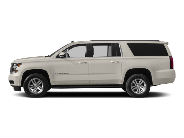 White Diamond Tricoat 2015 Chevrolet Suburban Pictures Suburban Utility 4D LT 4WD V8 photos side view