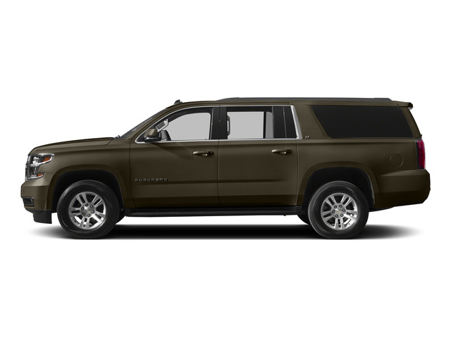 Brownstone Metallic 2015 Chevrolet Suburban Pictures Suburban Utility 4D LT 4WD V8 photos side view