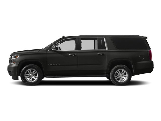 Tungsten Metallic 2015 Chevrolet Suburban Pictures Suburban Utility 4D LT 4WD V8 photos side view
