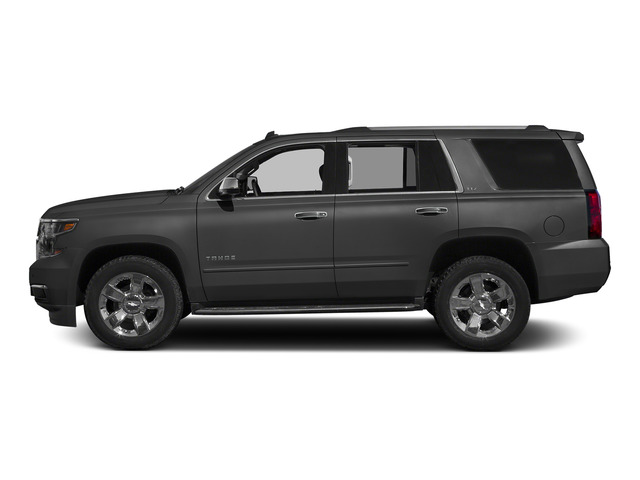 Slate Grey Metallic 2015 Chevrolet Tahoe Pictures Tahoe Utility 4D LT 4WD V8 photos side view