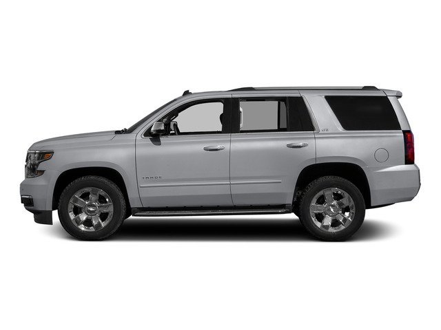 Silver Ice Metallic 2015 Chevrolet Tahoe Pictures Tahoe Utility 4D LT 4WD V8 photos side view
