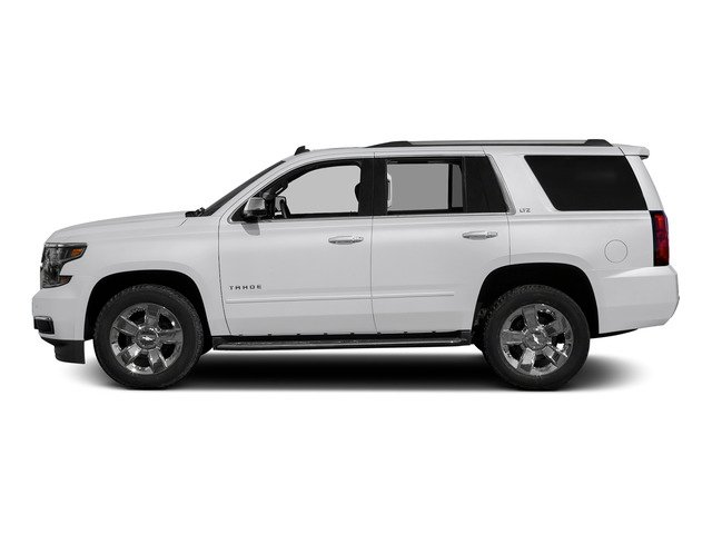 Summit White 2015 Chevrolet Tahoe Pictures Tahoe Utility 4D LT 4WD V8 photos side view