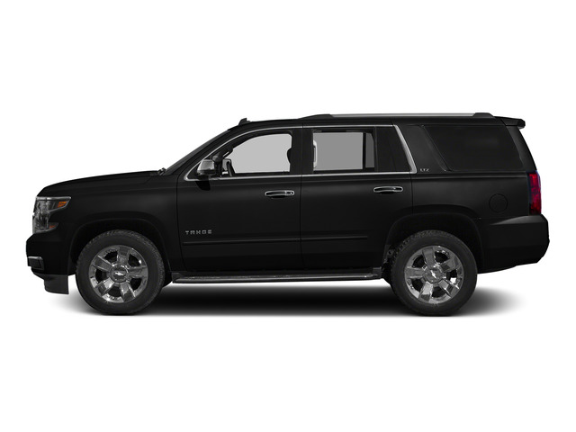 Black 2015 Chevrolet Tahoe Pictures Tahoe Utility 4D LT 4WD V8 photos side view