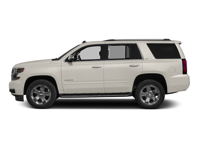 White Diamond Tricoat 2015 Chevrolet Tahoe Pictures Tahoe Utility 4D LT 4WD V8 photos side view