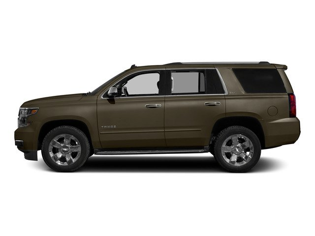Brownstone Metallic 2015 Chevrolet Tahoe Pictures Tahoe Utility 4D LT 4WD V8 photos side view