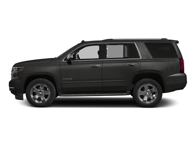 Tungsten Metallic 2015 Chevrolet Tahoe Pictures Tahoe Utility 4D LT 4WD V8 photos side view