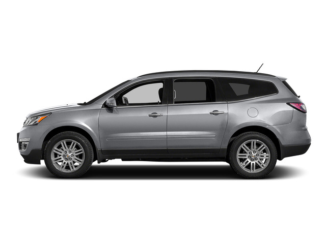 Silver Ice Metallic 2015 Chevrolet Traverse Pictures Traverse Utility 4D LS AWD V6 photos side view