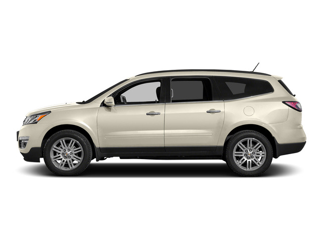 White Diamond Tricoat 2015 Chevrolet Traverse Pictures Traverse Utility 4D 2LT AWD V6 photos side view