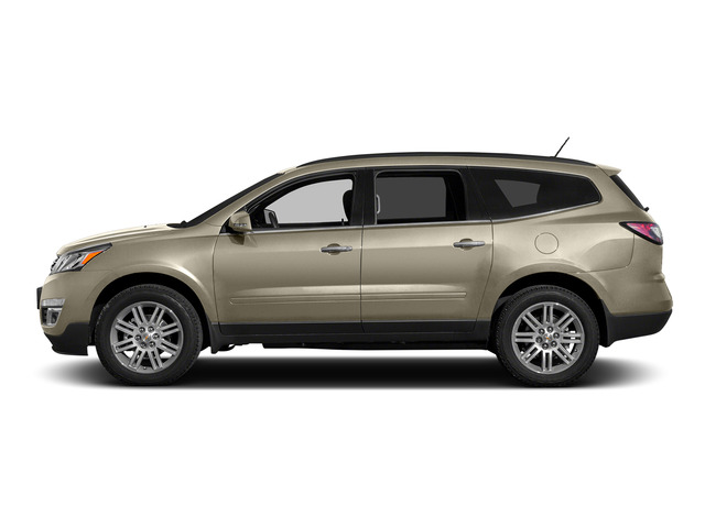 Champagne Silver Metallic 2015 Chevrolet Traverse Pictures Traverse Utility 4D 2LT AWD V6 photos side view