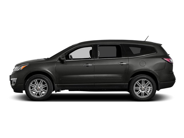 Tungsten Metallic 2015 Chevrolet Traverse Pictures Traverse Utility 4D LS AWD V6 photos side view