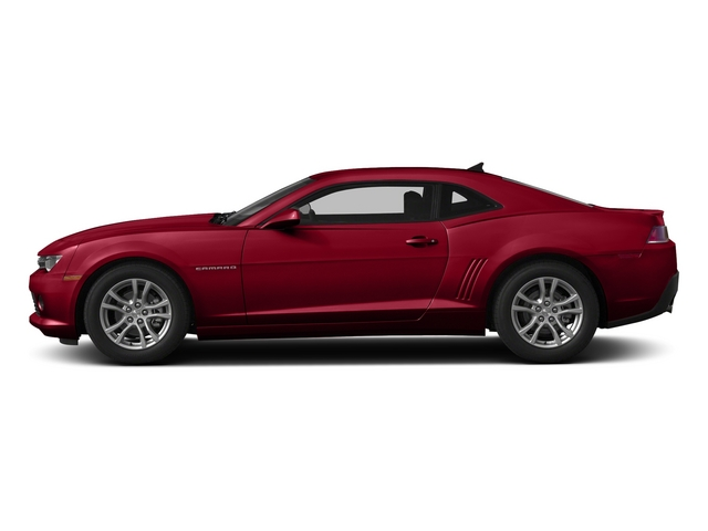 Red Hot 2015 Chevrolet Camaro Pictures Camaro Coupe 2D Z28 V8 photos side view