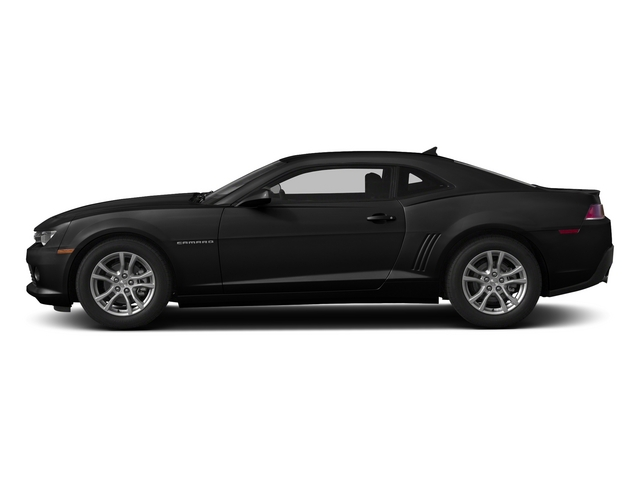 Black 2015 Chevrolet Camaro Pictures Camaro Coupe 2D Z28 V8 photos side view