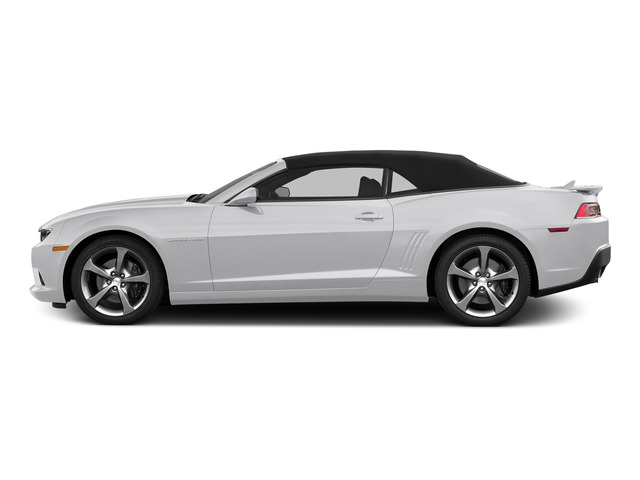 Summit White 2015 Chevrolet Camaro Pictures Camaro Convertible 2D SS V8 photos side view
