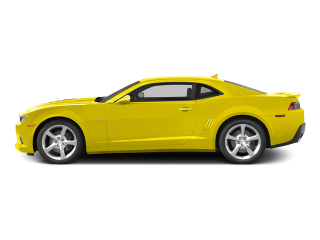 Bright Yellow 2015 Chevrolet Camaro Pictures Camaro Coupe 2D SS V8 photos side view