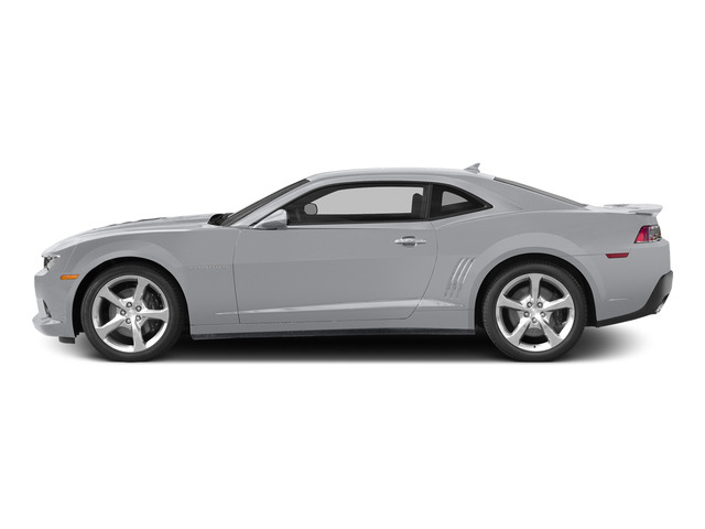 Silver Ice Metallic 2015 Chevrolet Camaro Pictures Camaro Coupe 2D SS V8 photos side view