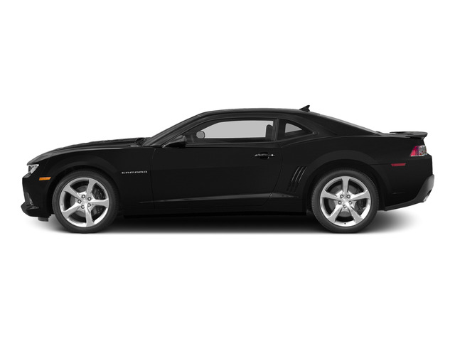 Black 2015 Chevrolet Camaro Pictures Camaro Coupe 2D SS V8 photos side view
