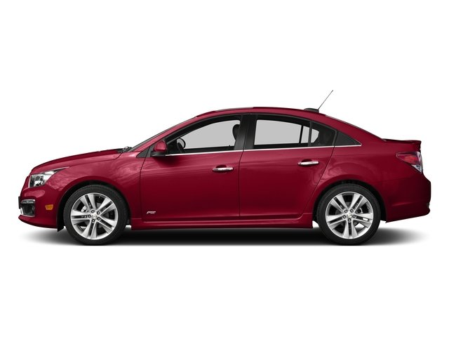 Siren Red Tintcoat 2015 Chevrolet Cruze Pictures Cruze Sedan 4D 2LT I4 Turbo photos side view