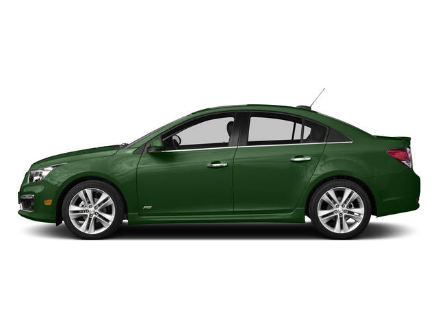 Rainforest Green Metallic 2015 Chevrolet Cruze Pictures Cruze Sedan 4D 2LT I4 Turbo photos side view