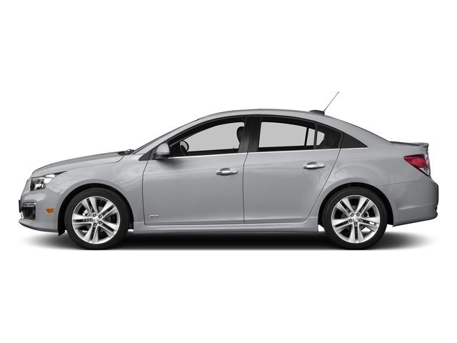 Silver Ice Metallic 2015 Chevrolet Cruze Pictures Cruze Sedan 4D 2LT I4 Turbo photos side view