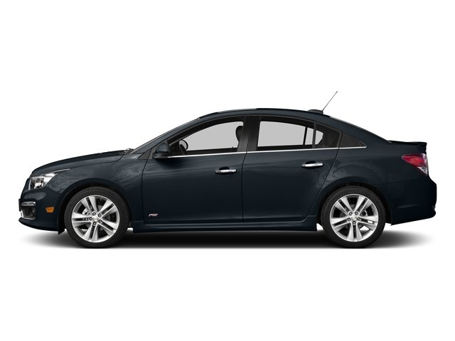 Blue Ray Metallic 2015 Chevrolet Cruze Pictures Cruze Sedan 4D 2LT I4 Turbo photos side view