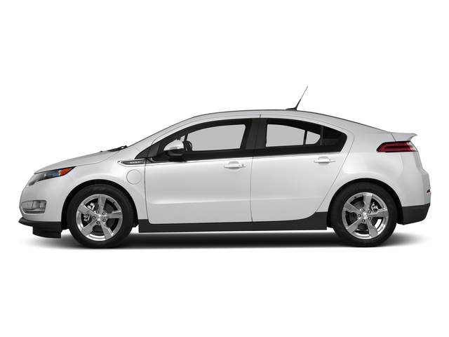 Summit White 2015 Chevrolet Volt Pictures Volt Sedan 4D Premium I4 Electric photos side view