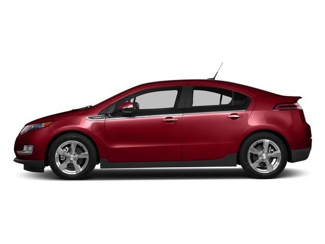 Crystal Red Tintcoat 2015 Chevrolet Volt Pictures Volt Sedan 4D Premium I4 Electric photos side view
