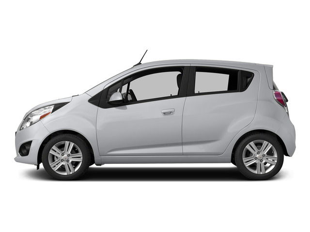 Silver Ice 2015 Chevrolet Spark Pictures Spark Hatchback 5D LS I4 photos side view