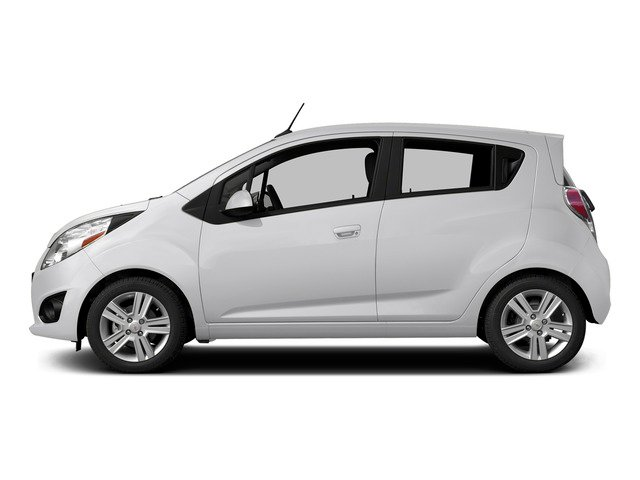 Summit White 2015 Chevrolet Spark Pictures Spark Hatchback 5D LS I4 photos side view