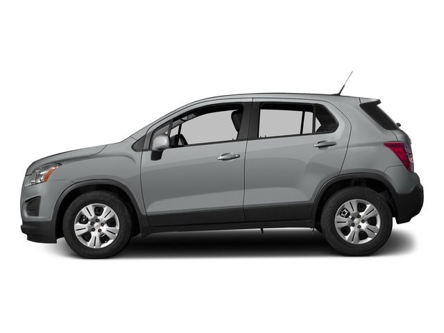 Silver Ice Metallic 2015 Chevrolet Trax Pictures Trax Utility 4D LS AWD I4 Turbo photos side view