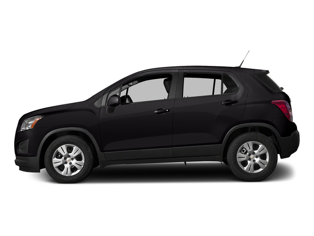 Black Granite Metallic 2015 Chevrolet Trax Pictures Trax Utility 4D LS AWD I4 Turbo photos side view
