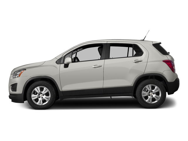 Summit White 2015 Chevrolet Trax Pictures Trax Utility 4D LS AWD I4 Turbo photos side view