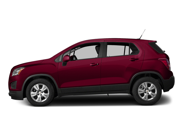 Ruby Red Metallic 2015 Chevrolet Trax Pictures Trax Utility 4D LS AWD I4 Turbo photos side view